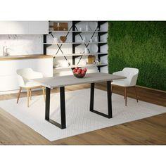 Акция на Обеденный стол Skandi Wood SW103 Индианаполис 150 х 80 х 75 см Массив Ясень Серый (SW103158075GrarrAsh) от Allo UA