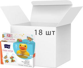 Акция на Упаковка пластырей медицинских Mаtораt Happy Tattoo 12 шт х 18 пачек (5900516898359) от Rozetka