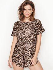 Акция на Пижама Victoria's Secret 597934318 L Леопардовая (1159751788) от Rozetka