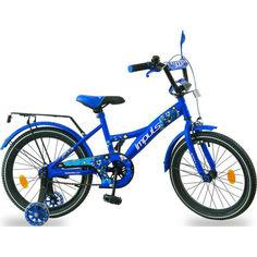 """Акция на Велосипед IMPULS KIDS 18"""" синий от Allo UA"""