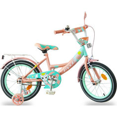"Акция на Велосипед IMPULS KIDS 16"" карамельный от Allo UA"