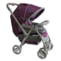Акция на Детская коляска-книжка LaBona Baby Line T-102, фиолетовая от Allo UA