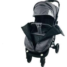Акция на Детская коляска прогулочная Yoya Plus Pro 21 на молнии Серый лен от Allo UA