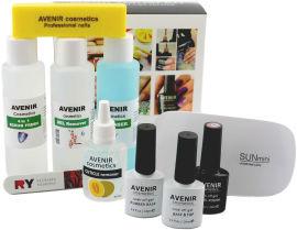 Акция на Стартовый набор Avenir Cosmetics для покрытия гель-лаком (4820440814236) от Rozetka