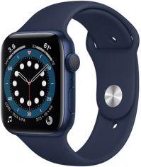 Акция на Apple Watch Series 6 GPS 40mm Blue Aluminium Case with Deep Navy Sport Band от Територія твоєї техніки