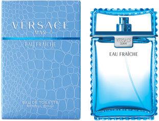 Акция на Туалетная вода для мужчин Versace Man Eau Fraiche 50 мл (8018365500020) от Rozetka