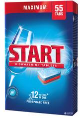 Таблетки для посудомоечной машины Start Maximum 55 шт (4820207100077) от Rozetka
