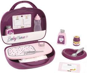 Акция на Кейс Smoby Toys Baby Nurse Прованс с аксессуарами для кормления и ухода (220341) (3032162203415) от Rozetka