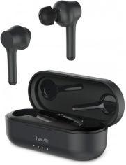 Акция на Навушники TWS Havit HV-I92 Black от Територія твоєї техніки