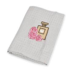 Акция на Кухонное полотенце Nilteks серое Perfume 40х60 см от Podushka