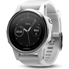 Акция на Garmin Fenix 5s White with Carrara White Band (010-01685-00) от Allo UA