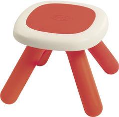 Акция на Стульчик без спинки детский Smoby Toys Красный (880203) (3032168802032) от Rozetka