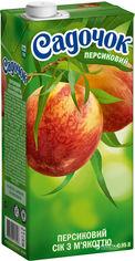 Акция на Упаковка сока Садочок Персиковый с мякотью 1.45 л х 8 шт (4823063107457) от Rozetka