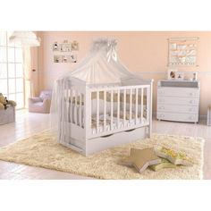 Акция на Детская кроватка Angelo lux 4 белый (11009) от Allo UA