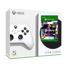 Акция на Microsoft Xbox Series S 512Gb + FIFA 21 (русская версия) от Allo UA