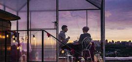 Акция на Романтическое свидание на крыше с кальяном от Pokupon