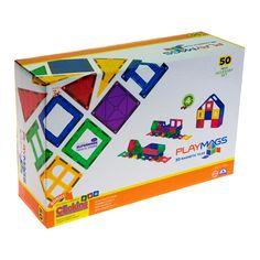 Акция на Конструктор Playmags Магнитный набор 50 элементов (PM153) от Будинок іграшок