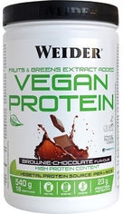 Акция на Протеин Weider Vegan Protein 540 г Brownie-Chocolate (8414192309315) от Rozetka