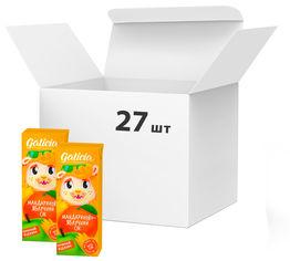 Акция на Упаковка сока Galicia мандариново-яблочный неосветленный пастеризованный 0.2 л х 27 шт (4820209563412) от Rozetka