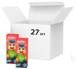 Акция на Упаковка сока Galicia с мякотью из смеси плодов Ягодный 0.2 л х 27 шт (4820209563443) от Rozetka
