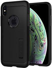 Акция на Панель Spigen Slim Armor для Apple iPhone Xs Black (063CS25136) от Rozetka