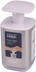 Акция на Дозатор для жидкого мыла JOSEPH JOSEPH Presto 70532 от Rozetka