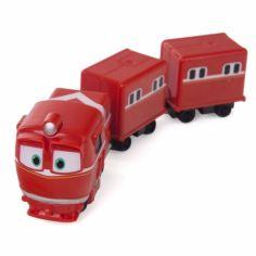 Акция на Robot Trains Паровозик с двумя вагонами Альф 80180 (2000902882108) от Allo UA