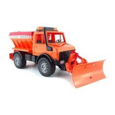 Акция на Игрушка - снегоуборочный автомобиль MB Unimog 2572 (2000902062487) от Allo UA