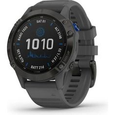 Акция на Garmin Fenix 6 Pro Solar Titanium Carbon Gray Dlc With Titanium Dlc Band (010-02410-23) от Allo UA