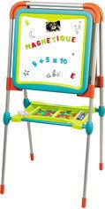 Акция на Двухсторонний мольберт Smoby Toys Буквы и цифры с подставкой и аксессуарами (3032164101030) от Rozetka