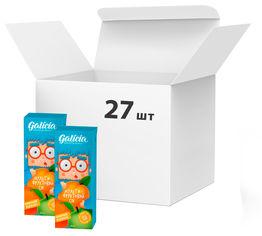 Акция на Упаковка сока Galicia с мякотью из смеси фруктов Мультифруктовый 0.2 л х 27 шт (4820209563436) от Rozetka