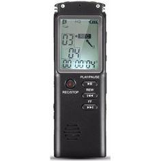 Акция на Портативный цифровой диктофон DOITOP T-60, VAS, 16 Гб, MP3, стерео от Allo UA