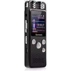 Акция на Профессиональный цифровой диктофон Savetek GS-R07 original, 32 Гб памяти, стерео, SD до 64 Гб от Allo UA