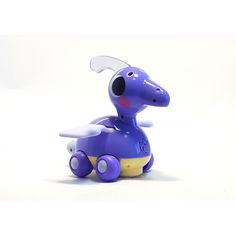 Акция на Каталка динозаврик, Hola Toys, фиолетовая. от Allo UA