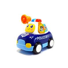"""Акция на Детская машинка каталка """"Полиция"""" со световыми и звуковыми эффектами, Hola Toys. от Allo UA"""