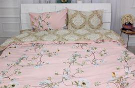 Акция на Комплект постельного белья MirSon Бязь 17-0393 Bradford 1-спальный (2200002792813) от Rozetka