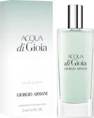 Акция на Миниатюра Парфюмированная вода для женщин Giorgio Armani Acqua Di Gioia 15 мл (ROZ6400105118) от Rozetka