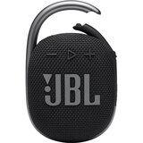 Акция на Портативная акустика JBL Clip 4 Black (JBLCLIP4BLK) от Foxtrot