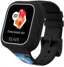 Акция на Дитячий телефон-годинник з GPS трекером Elari FixiTime Lite (ELFITL-BLK) Black от Територія твоєї техніки