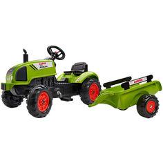 Акция на Детский трактор на педалях Falk Claas Arion Зеленый (2041C) от Allo UA