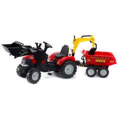 Акция на Детский трактор Falk 995W Case Ih Puma на педалях Красный от Allo UA