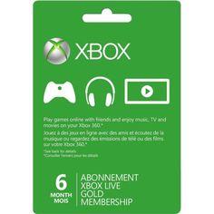 Акция на Xbox Live Gold - 6 месяцев (Xbox 360/One) подписка для всех регионов и стран от Allo UA
