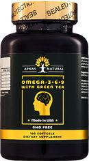 Акция на Жирные кислоты Apnas Natural Омега 3-6-9 С зеленым чаем 100 капсул (603051082195) от Rozetka