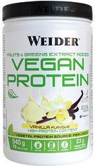 Акция на Протеин Weider Vegan Protein 540 г Vanilla (8414192309322) от Rozetka