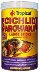 Акция на Корм Tropical Cichlid&Arowana Large Sticks для аквариумных рыб в палочках 1 л (5900469635360) от Rozetka