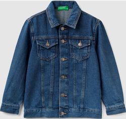 Акция на Джинсовая куртка United Colors of Benetton 2ARN53J30.G-901 130 см M (8032652376594) от Rozetka