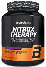 Акция на Предтренировочный комплекс BioTech Nitrox Therapy 680 г Клюква (5999076224388) от Rozetka