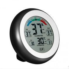 Акция на Цифровой термометр гигрометр термогигрометр метеостанция CJ-3305F от Allo UA