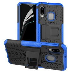Акция на Чехол Armor Case для Samsung A202 Galaxy A20e Синий от Allo UA