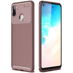 Акция на Чехол Carbon Case для Samsung Galaxy A11 / M11 Brown от Allo UA